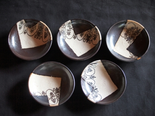 パルメット紋手塩皿