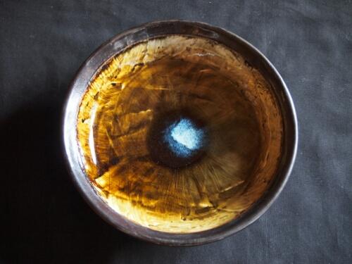 八寸灰釉鉢